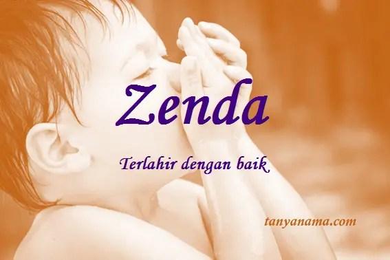 arti nama Zenda