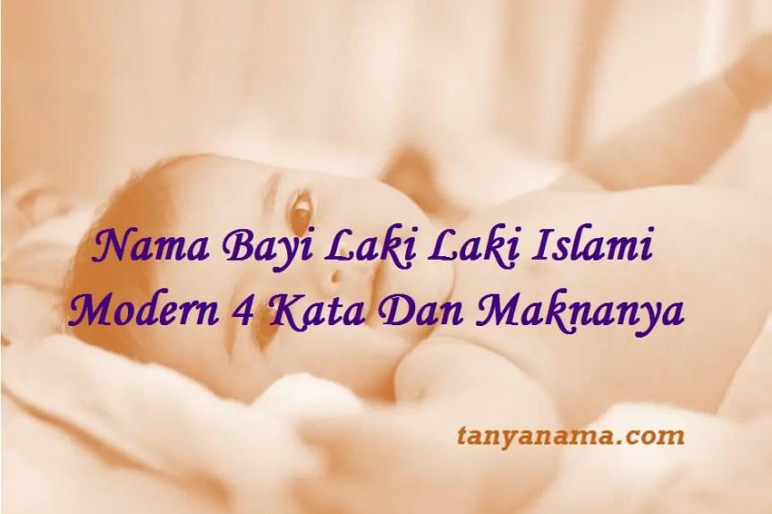 Nama Bayi Laki Laki Islami Modern 4 Kata