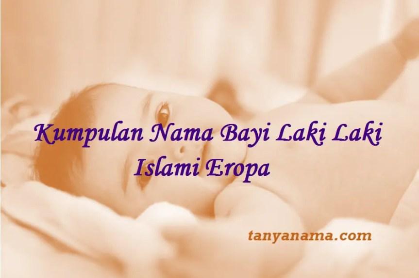 Nama Bayi Laki Laki Islami Eropa