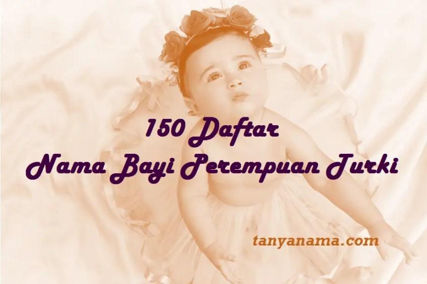 Nama Bayi Perempuan Turki