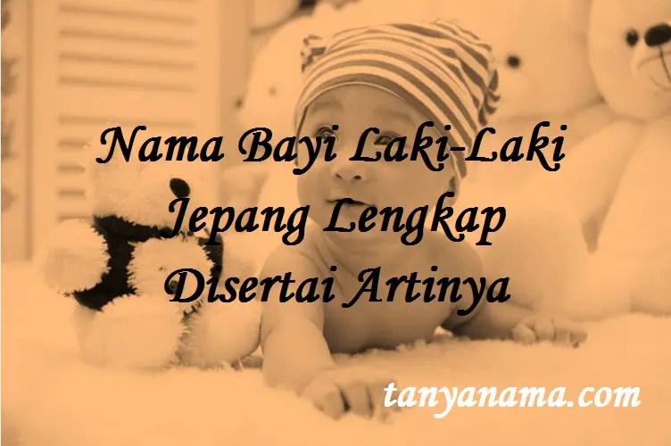 Nama Bayi Laki-Laki Jepang