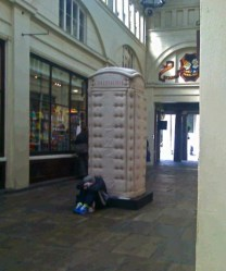 Padded Cell Phonebox