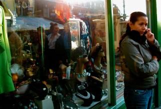 Shop window on Broadway Market, London, 2011