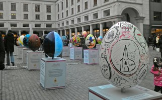 Common History by David Mackintosh. (egg in foreground)
