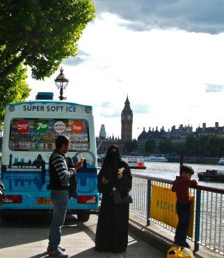 Big Ben Clock Tower in background