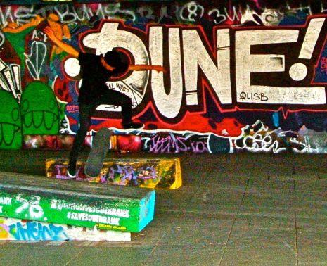 Southbank skatepark (18/08/13)