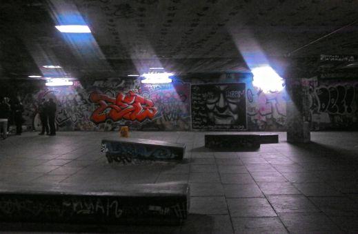 Southbank skatepark (Nov 2013)