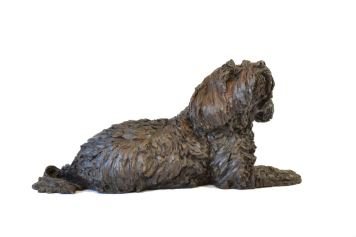 Tibetan Terrier Sculpture 3 - Tanya Russell Dog Sculpture