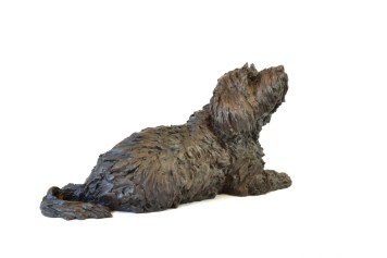 Tibetan Terrier Sculpture - Tanya Russell Dog Sculpture