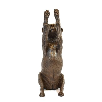 Reaching Staffordshire Bull Terrier Sculpture 8 - Tanya Russell Dog Sculpture