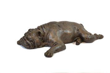 Bulldog Sculpture 2 - Tanya Russell Dog Sculpture