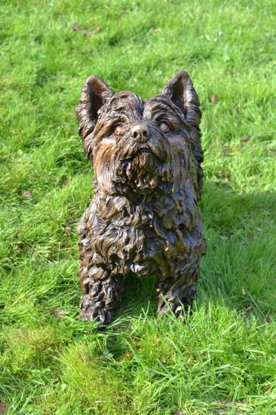 Yorkshire Terrier, Charlie 1 - Tanya Russell Sculpture