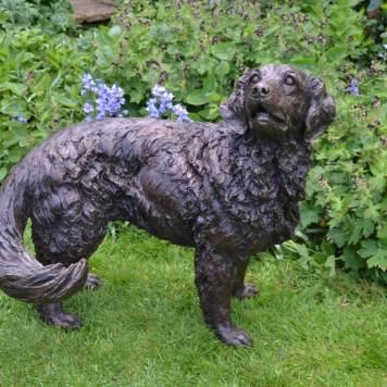 Goldne Retriever Sculpture - Tanya Russell