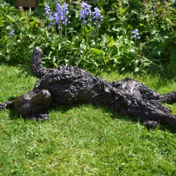 Cocker Spaniel Rolling 2 Sculpture - Tanya Russell