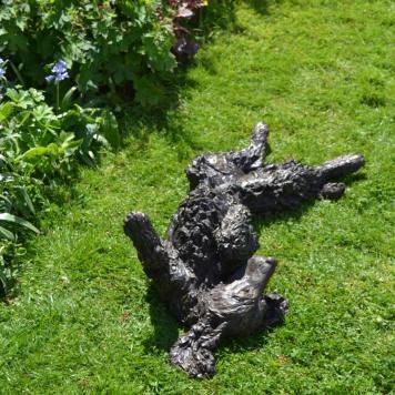 Cocker Spaniel Rolling 9 Sculpture - Tanya Russell