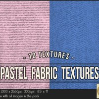 Pastel Fabric Textures 8.5x11 Printable by TanyDiDesignStudio