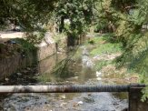 Canal in dry season