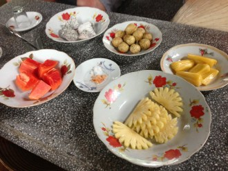 A selection of Fresh Fruits