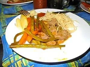 Une assiette en Campement Tanzanie