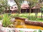 types hébergements en tanzanie .Lodge en brousse en Tanzanie
