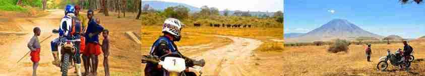 Safari a moto en Tanzanie