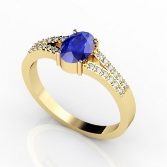 oval-tanzanite-rings