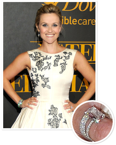 celebrity wear engagement ring