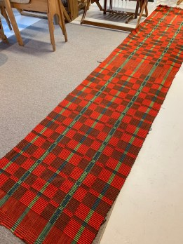 Rick's Rep Rugs hot off the loom.