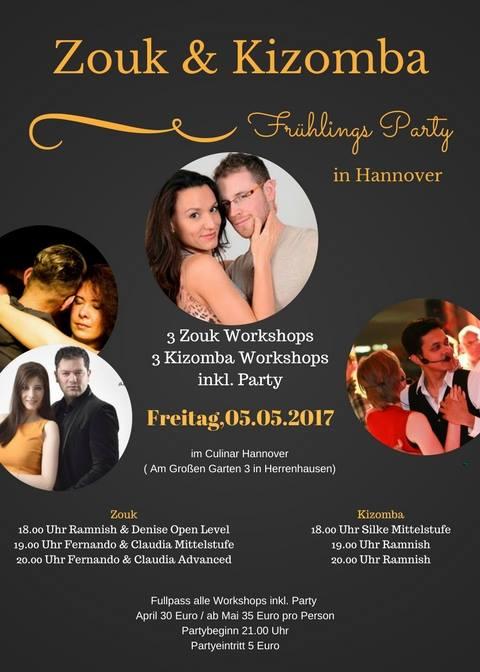 Zouk Hannover Mai 2017