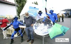 Das E-Team als Live-Attraktion beim Pier F Festival in Frankfurt, Foto: Ernst Stratmann, mit freundl. Genehmigung des Energiereferats der Stadt Frankfurt