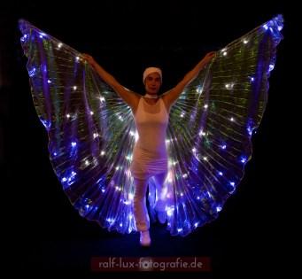 LED-Isis-Wings für Lichtshow oder Licht Walk Act