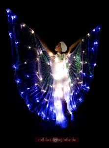 LED-Isis-Wings für Lichtshow oder Licht-Walking Act