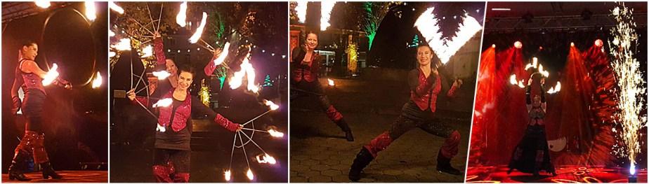 Dance in Flames - Duo-Feuershow - Feuertanz - Feuerjonglage, Hula Hoop, Poi, Buugeng, Feuerrock, Feuerkrone, Feuerseile, Feuerfächer, Feuereffekte von Tanzlicht K - Tanz, Lichtshows und Feuerartistik aus Frankfurt am Main