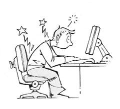 Sitting causes pain - movement restoration