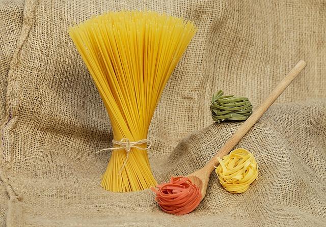 """Ciao India"" Spaghetti – vegan"
