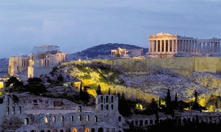 Mit dem Elektro-Roller durch Athen!