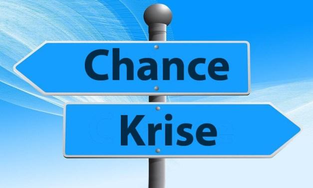 Die Krise als Chance? Aber bei vielen überwiegt die Angst…