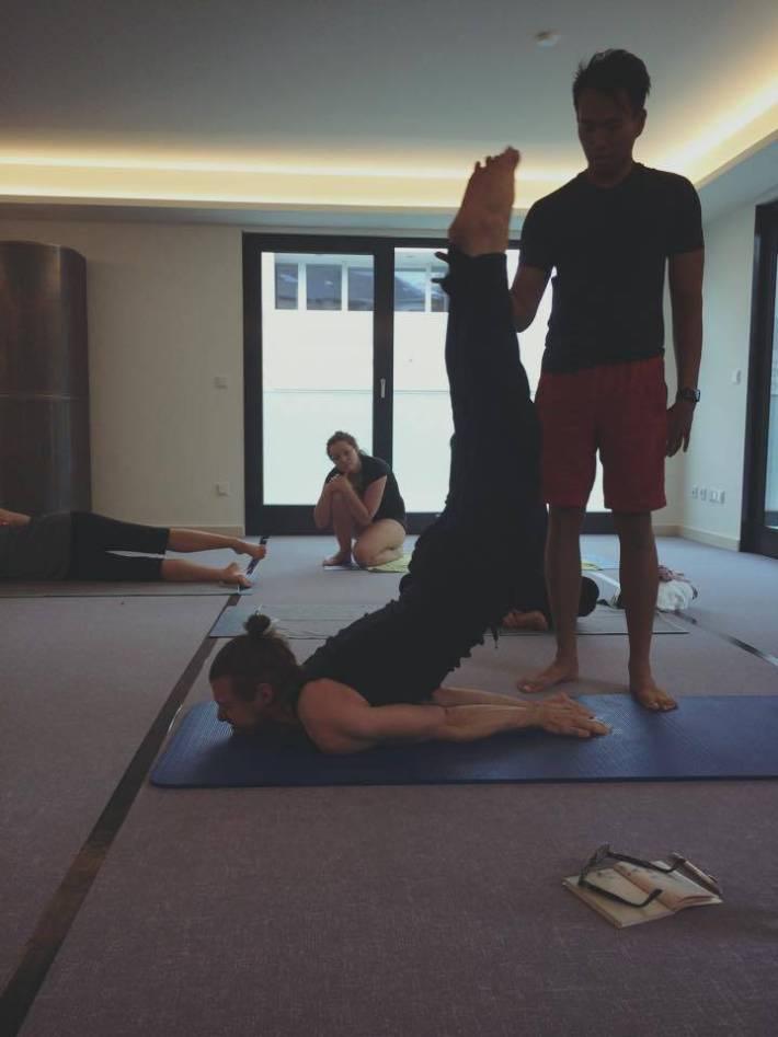 Locust Pose - Bikram Yoga Workshop