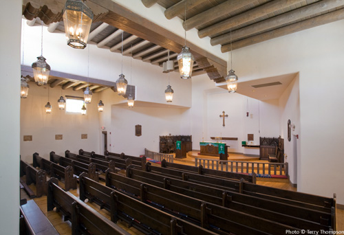 St James Episcopal Church  Taos Design Build