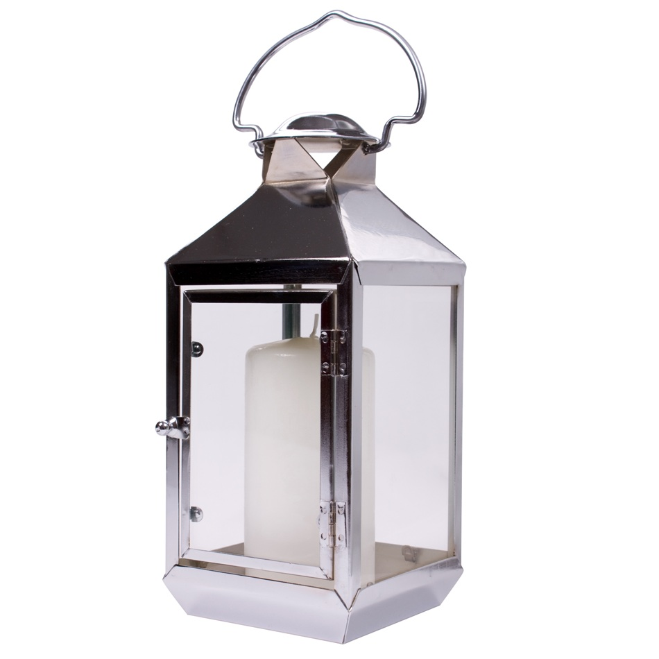 Stainless Steel Storm Metal Lantern Shearer Candles
