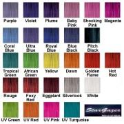 purple semi permanent hair colour