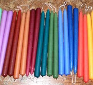 Handmade Taper Candles