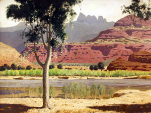 James Swinnerton, Oil Painting