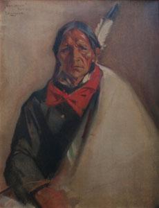 """Julius Rolshoven, Sun Arrow, Oil on Canvas, 36"""" x 28"""""""
