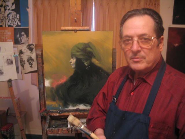 Jose In his Studio 7