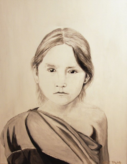 Patrick Trujillo, Generations II acrylic on canvas