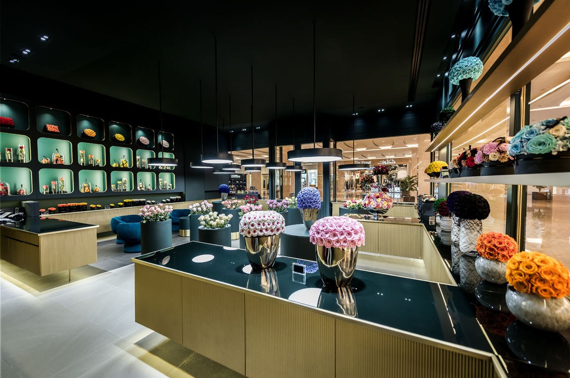 TAO Designs Retail Project Only Roses Nation Towers Abu Dhabi Principle Of Art