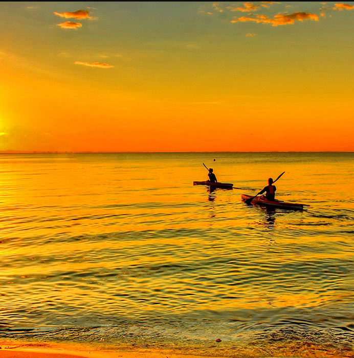 Affordable all inclusive yoga retreat rasa kayaking