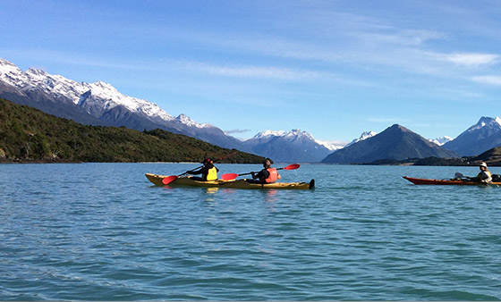 Active adventures in New Zealand