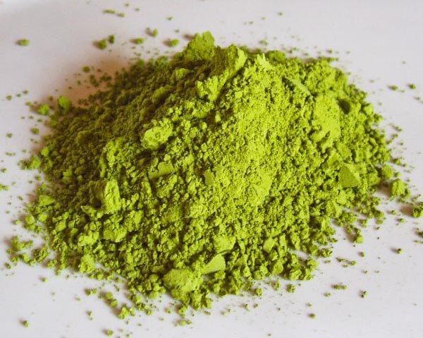 Edible Green Tea Powdered